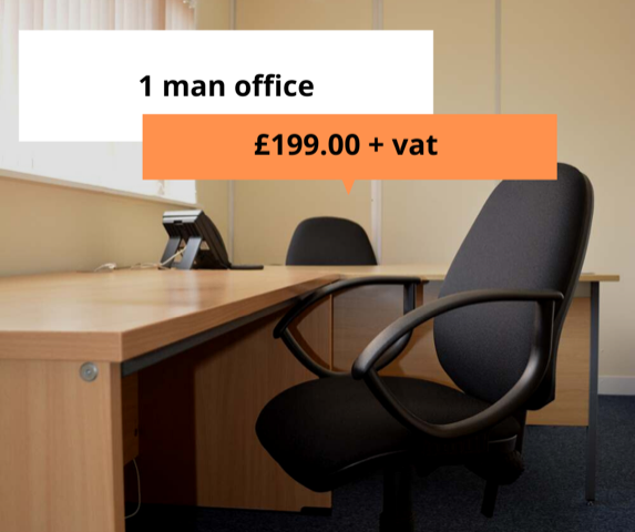 Deal of the month - 1 man office